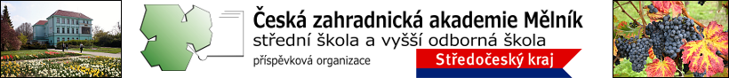 logo firmy Èeská zahradnická akademie Mìlník - støední škola a vyšší odborná škola