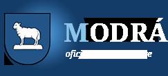 logo firmy OBEC Modrá