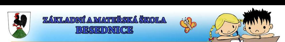 logo firmy Základní a Mateøská škola Besednice