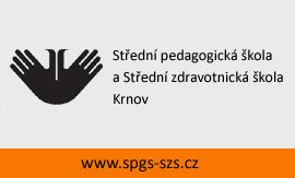 logo firmy Støední pedagogická škola a Støední zdravotnická škola, Krnov, pøíspìvková organizace