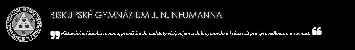 logo firmy BISKUPSKÉ GYMNÁZIUM J.N.NEUMANNA A CÍRKEVNÍ ZŠ