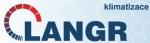 logo firmy Klimatizace Langr