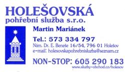 logo firmy Holešovská pohřební služba s.r.o.