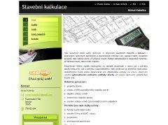 logo firmy Stavební kalkulace - Michal Kubelka