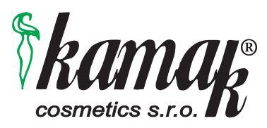 logo firmy KAMAK cosmetics s.r.o.