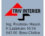 logo firmy Triv interiér s.r.o.