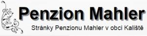 logo firmy Penzion Mahler v obci Kalištì