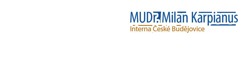 logo firmy MUDr. Milan Karpianus s.r.o.