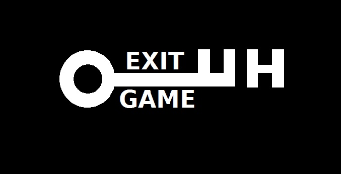 logo firmy EXIT GAME UH