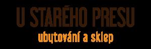 logo firmy U Starého Presu - ubytování a sklep