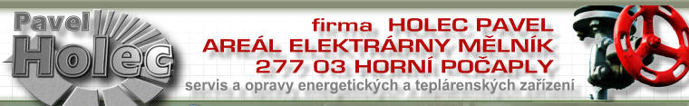 logo firmy Pavel Holec s.r.o.