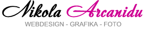 logo firmy tvorba www stránek - Nikola Arcanidu, DiS.
