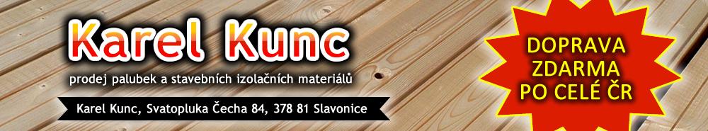 logo firmy KUNC KAREL - Palubky, izolaèní materiály
