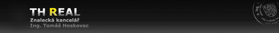 logo firmy TH REAL znalecká kanceláø - Ing.Tomáš Hoskovec