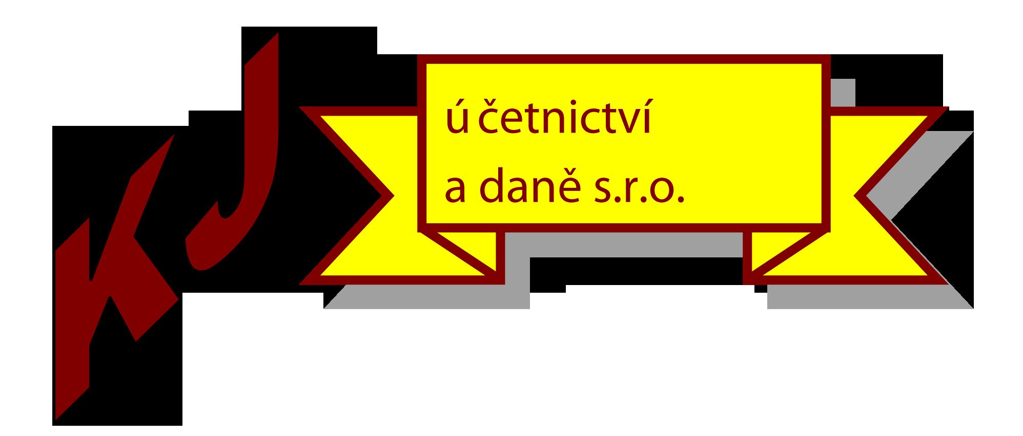logo firmy KJ ÚČETNICTVÍ A DANĚ