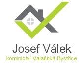 logo firmy Josef Válek - kominík, kominictví Valašská Bystřice