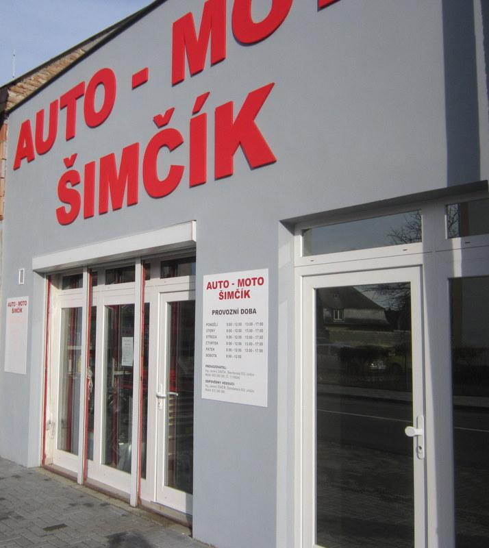 logo firmy AUTO-MOTO ŠIMÈÍK JAROMÍR