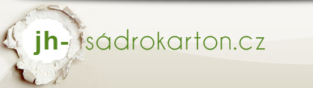 logo firmy Zdenìk Houška - JH sádrokarton