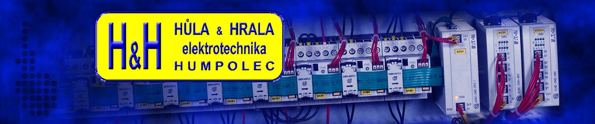 logo firmy HÙLA & HRALA Elektrotechnika