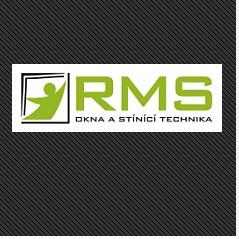 logo firmy R.M.S. - okna a stínící technika