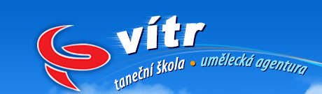 logo firmy TANEÈNÍ ŠKOLA VÍTR