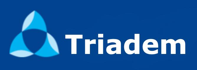 logo firmy TRIADEM, s.r.o.