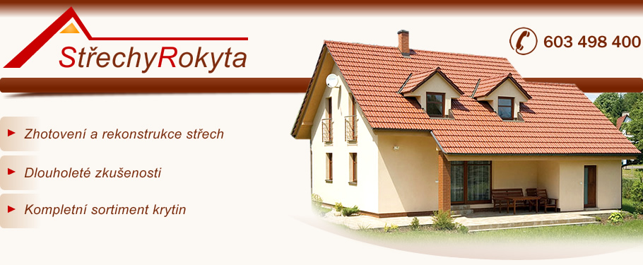 logo firmy Václav Rokyta - støechy Rokyta