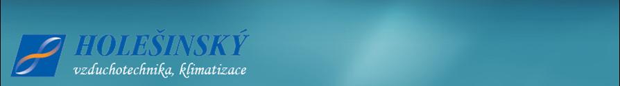 logo firmy HOLEŠÍNSKÝ JOSEF - vzduchotechnika, klimatizace