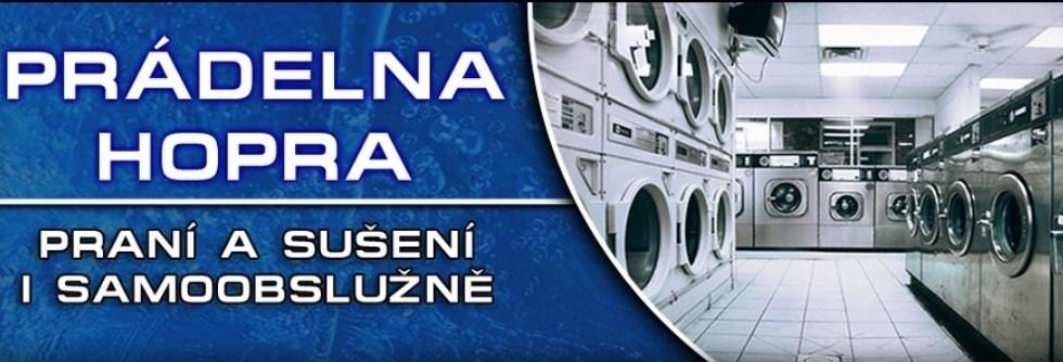 logo firmy Prádelna a sušárna HOPRA - Jan Starosta