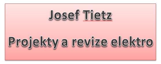 logo firmy Josef Tietz - projekty a revize elektro