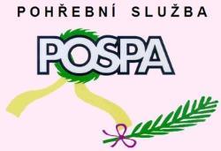 logo firmy POSPA POHØEBNÍ SLUŽBA