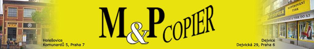logo firmy MP COPIER Vladimír Maøík