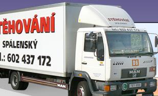 logo firmy Stìhování autodoprava Spálenský