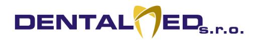logo firmy DENTALMED
