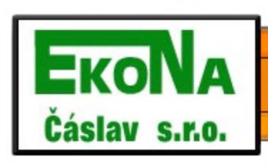 logo firmy EKONA ČÁSLAV
