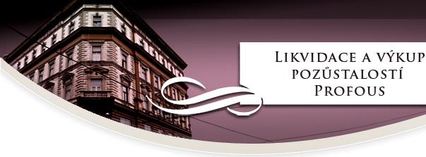 logo firmy LIKVIDACE A VÝKUP POZÙSTALOSTI