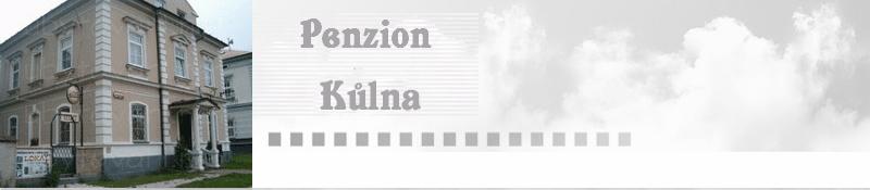 logo firmy Penzion Kůlna * * *