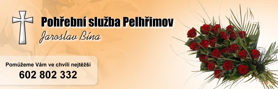 logo firmy JAROSLAV BÍNA - POHŘEBNÍ SLUŽBA PELHŘIMOV
