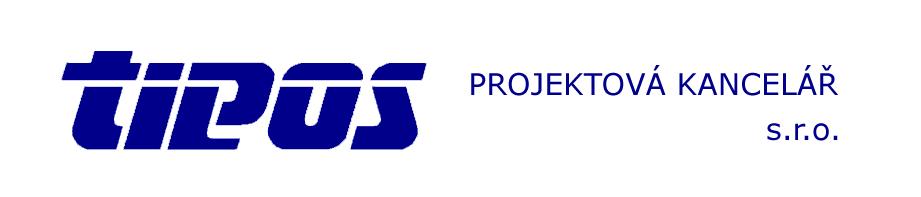 logo firmy  TIPOS projektová kanceláø, s.r.o.