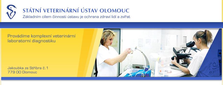 logo firmy STÁTNÍ VETERINÁRNÍ ÚSTAV OLOMOUC