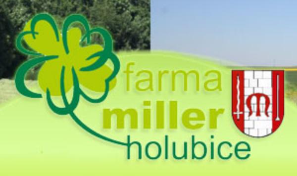 logo firmy FARMA MILLER HOLUBICE