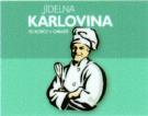 logo firmy JÍDELNA KARLOVINA
