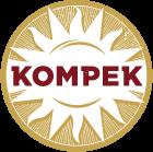 logo firmy KOMPEK, KOMBINÁT PEKAŘSKÉ A CUKRÁŘSKÉ VÝROBY