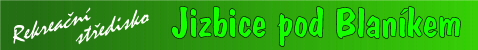 logo firmy Rekreaèní støedisko Jizbice pod Blaníkem