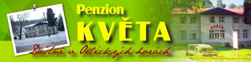 logo firmy PENZION KVÌTA