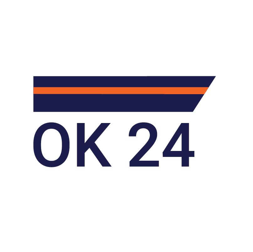 logo firmy OK 24 - bezpeènostní služba