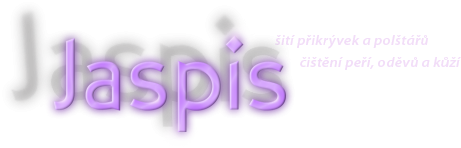 logo firmy Hana Tovaryšová - JASPIS