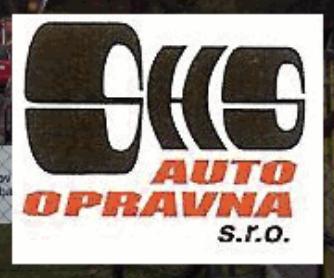 logo firmy SHS AUTOOPRAVNA
