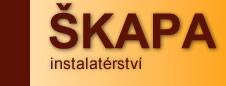 logo firmy Radomír Škapa INSTALATÉRSTVÍ