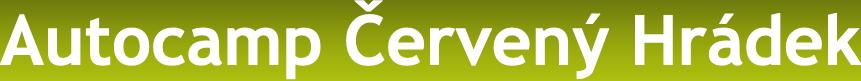 logo firmy Autocamp Červený Hrádek